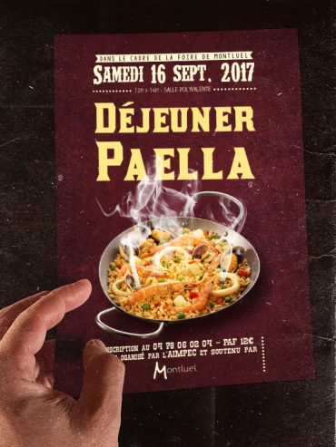 Flyer Paella
